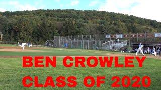 BEN CROWLEY CRUSADERS BASEBALL CLUB AND MONROE WOODBURY HIGH SCHOOL CLASS OF 2020