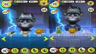 My Talking Tom baby VS Adult level 62 VS level 70 Gameplay Great Makeover for Children HD