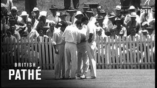 Brisbane - First Test Report (1954)