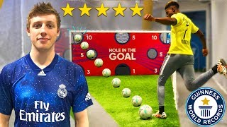 I Challenged W2S To a PRO Football Competition! (KICKTOWN FOOTBALL CHALLENGE)