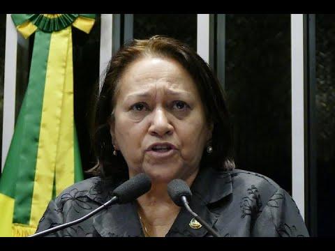 Fátima Bezerra critica vetos de Temer a metas de prioridades ligadas ao Plano Naiconal de Educação