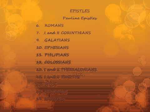 Awana Books of Bible.wmv