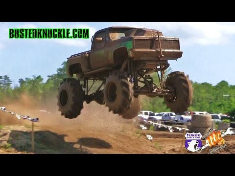 SINGER SLINGER MUD TRUCK THROWS DOWN AT DAMM PARK