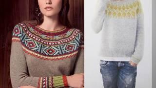 Всегда модная ЛОПАПЕЙСА. Исландский свитер.  Вязание Knitting Knitted Diy