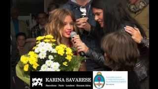 CONSULADO ARGENTINO BCN -FOTOS-  DESFILE SHOW- KARINA Y LOURDES SAVARESE