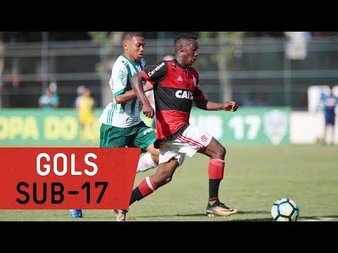 Gols! Copa do Brasil Sub 17 | Flamengo 3x3 Palmeiras