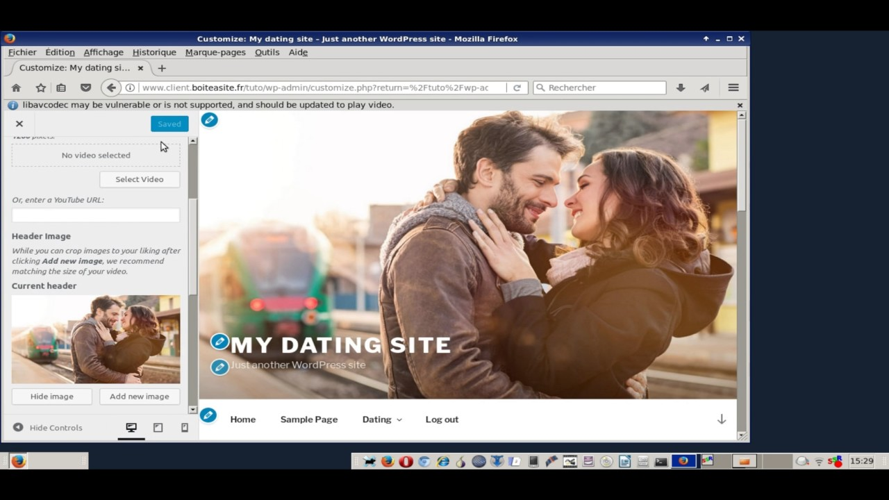 Wordpress sito di dating software