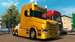 Euro Truck Simulator 2 - NEW SCANIA T - Test Drive Thursday #147