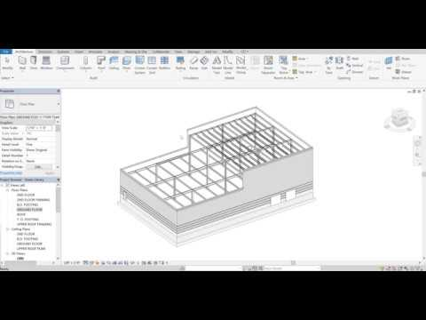 Autodesk Revit Green Library Tutorial - Part 1 - Rough Sketch Creation