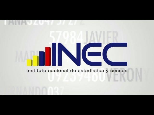 INEC Instituto Nacional de Estadísticas y Censos (7 minutos)