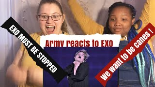 Army Reacts To White Noise + Thunder + Playboy + A
