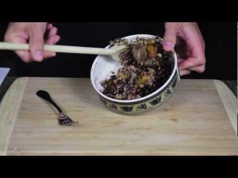 10 Minute Vegan - Homemade Grilled Black Bean Burger