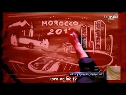 amazing draw in the opening ceremony of the FIFA club world cup morocco 2014