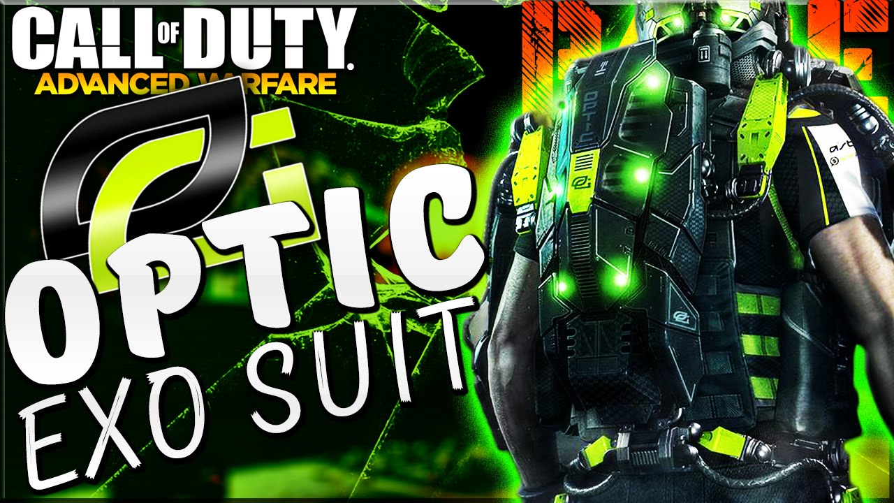 "NEW ""OPTIC Gaming"" Exo Suit Coming To COD Advanced Warfare ..."