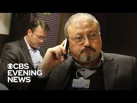 "Trump discusses Saudi journalist's disappearance on ""60 Minutes"""