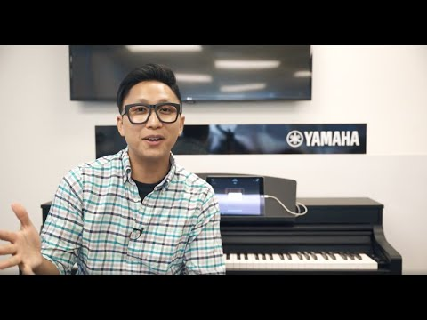 YAMAHA Clavinova CSP - This Piano Can Teach You to Play Along with Songs on Your Phone!