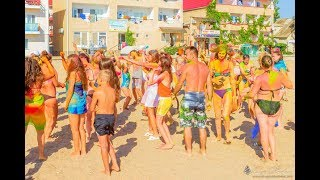 Море берег пляж Саки база отдыха Прибой Крым(Гостевой дом у моря