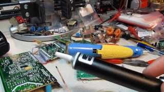 #102: How to desolder or unsolder components using solder wick and vacuum tools