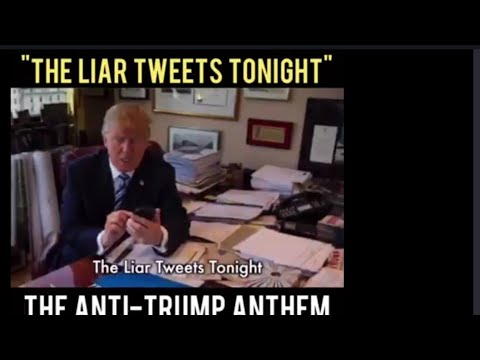 Roy Zimmerman The Anti Trump song The Liar Tweets Tonight. - YouTube