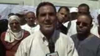 تصوير إبراهيم جراية صحفي ومراسل قناة الشروق tv من الوادي