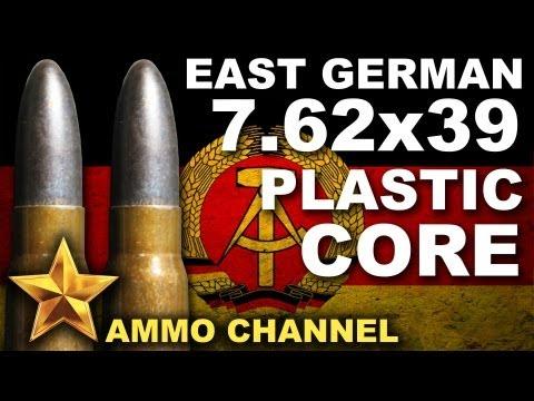 AMMOTEST: 7.62x39 East German Nylon Core