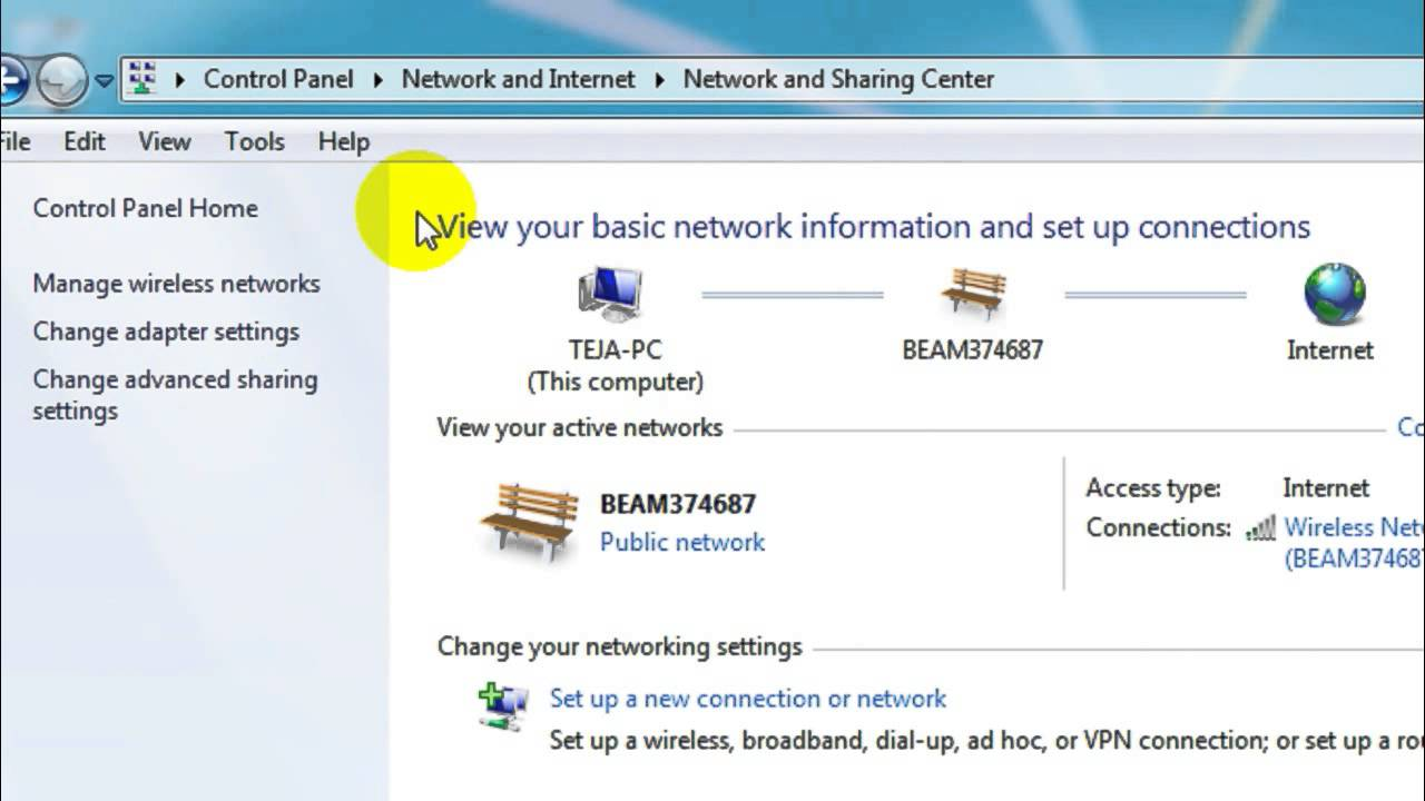 How to view saved Wi-Fi Passwords in Windows 7 - YouTube