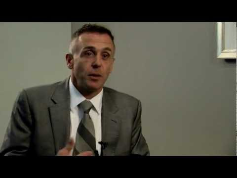 with Chicago Fires's David Eigenberg