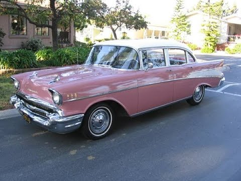 For Sale 1957 Chevrolet Belair 4 Door All Original Paint Interior 43 781 Orig Miles