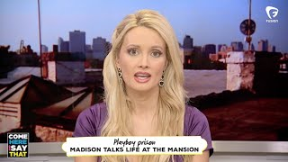 Holly Madison didn't have to sign a non-disclosure at the Playboy Mansion