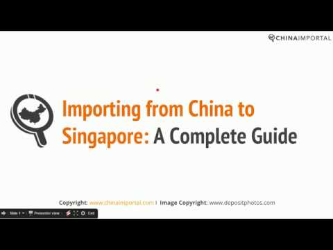 Importing from China to Singapore: A Complete Guide