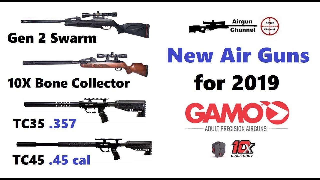 New Air Guns - GAMO - 2019 Shot Show