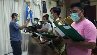 Latihan Koor#koorlagurohani# koor#musik#latihankoor|| Part 1