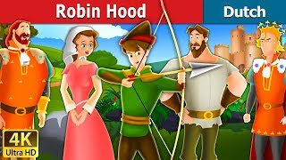 Robin Hood in Dutch | 4K UHD | Dutch Fairy Tales
