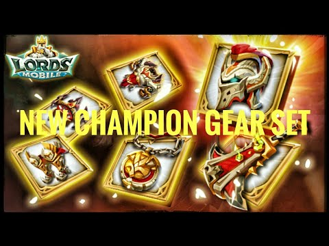 Lords Mobile - New Champion Set Released!