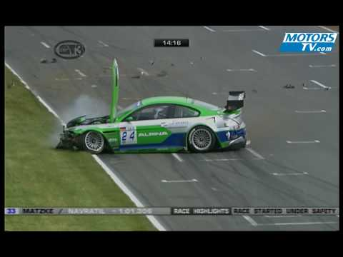 FIA GT3 Crash at Oschersleben 2009