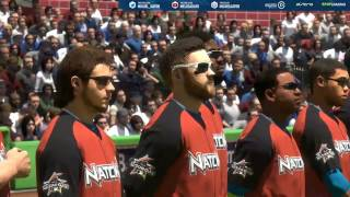 "MLB The Show 17 AL All Stars vs NL All Stars Gameplay ""High frame Rate mode"" PS4 Pro"