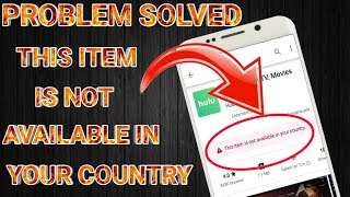this item is not available in your country||Problem Solved||by DM KNOWLEDGE