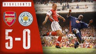 A Bergkamp masterclass!   Arsenal 5-0 Leicester City   Highlights   Feb 20, 1999   Arsenal Classics