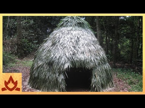 Thumbnail: Primitive Technology: Thatched Dome Hut