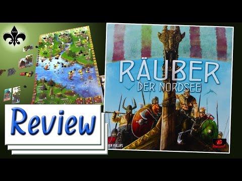 Räuber der Nordsee Brettspiel Review -  Schwerkraft Verlag 2016 /GER