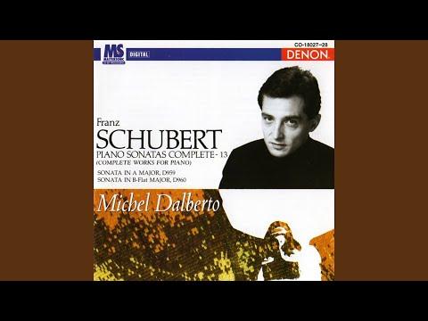 Piano Sonata in B-Flat Major, D. 960: I. Molto Moderato