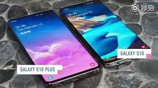 Samsung Galaxy S10 u0026 S10+ 曝光上手片