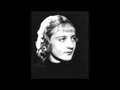 Poldi Mildner plays Chopin Ballade No. 2 Op. 38