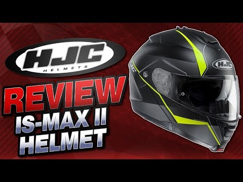 HJC IS-MAX II Helmet Review from Sportbiketrackgear.com
