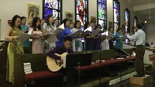 Lên Đền Thánh   -    Sáng tác   Đinh Dũng        Ca Đoàn Thánh Giuse Jacksonville, FL