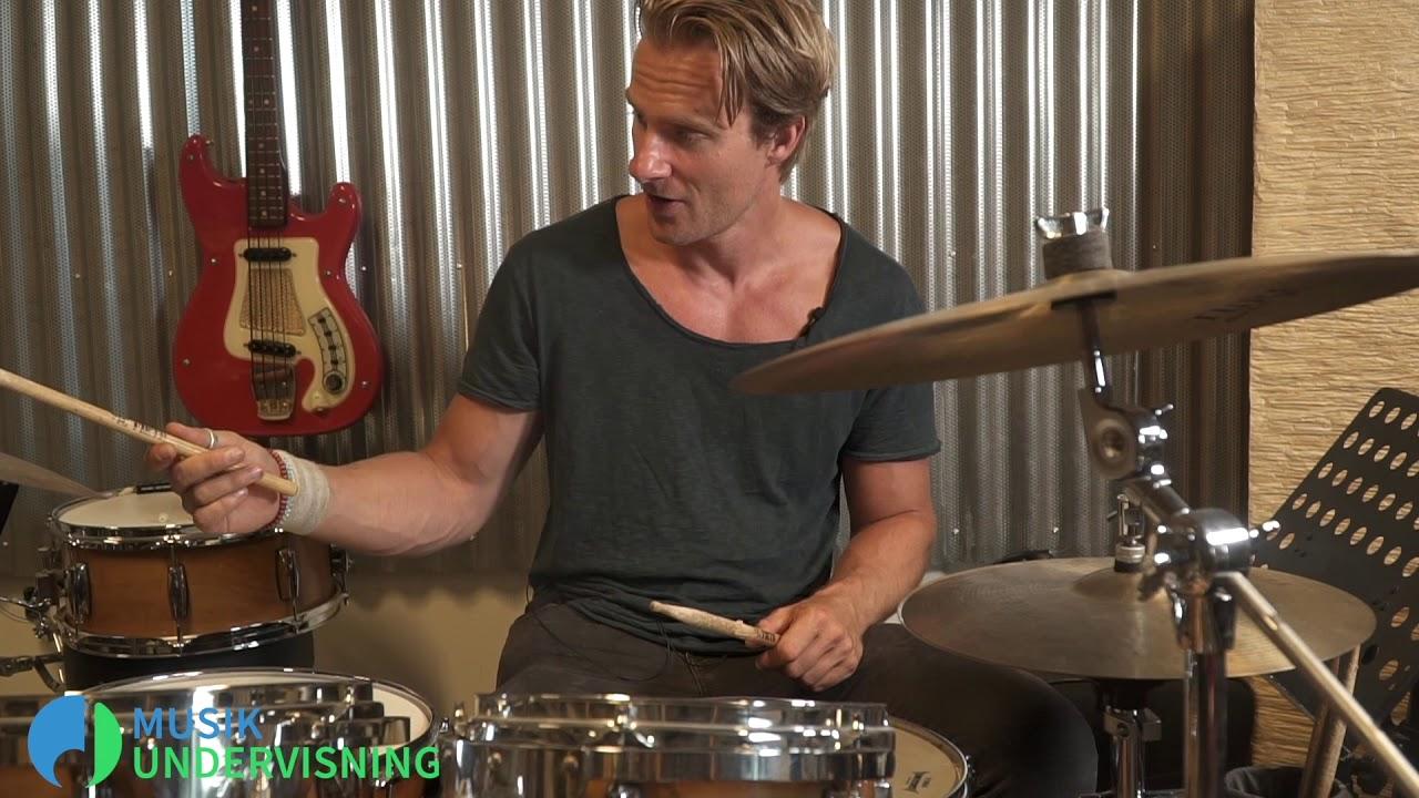 Lær at spille trommer - introduktion - online trommeundervisning - del 1/3