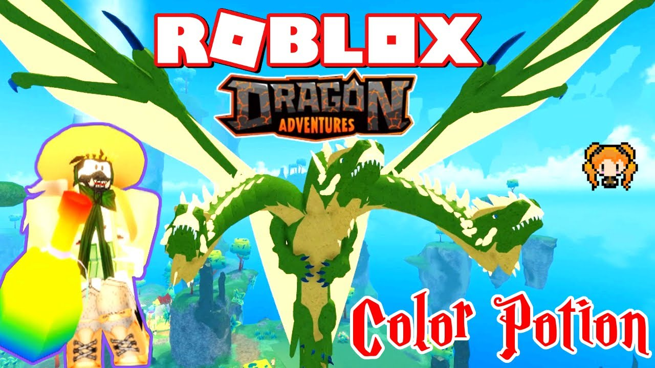 Roblox Dragon Adventures Color Shuffle Potions Testing My