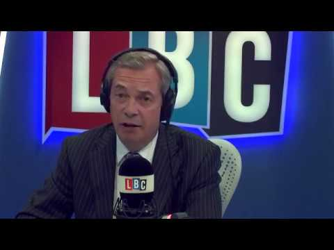 The Nigel Farage Show - Terror Attack Westminster London Debate - 22/03/2017