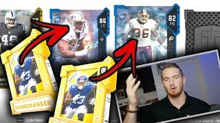 GAMECHANGER PACK OPENING | Upgrading For Weekend League! Madden 19 Ultimate Team Pack Opening
