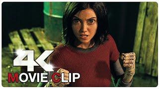 Alita Vs Cyborgs - Fight Scene - ALITA BATTLE ANGEL (2019) Movie CLIP 4K #Official_Trailer